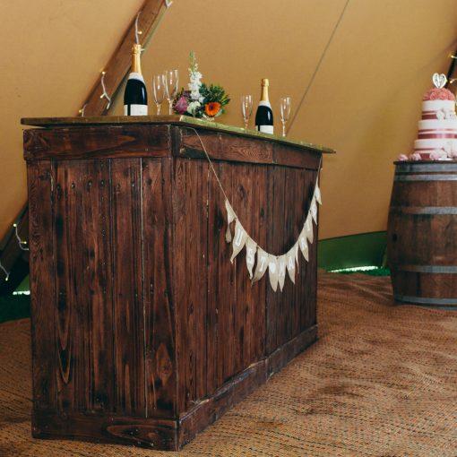 love vintage copper bar