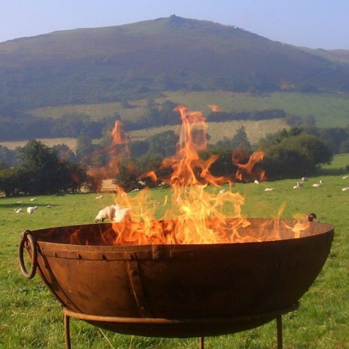fire bowl love vintage