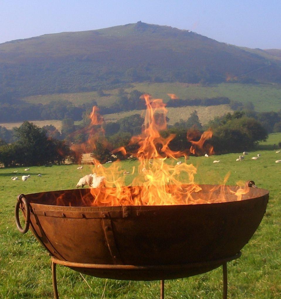 fire bowl love vintage